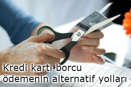 kredi kartı borç taksitlendirme